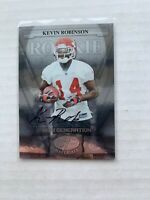 2008 LEAF CERTIFIED MATERIALS #178 KEVIN ROBINSON AU  RC 052/999