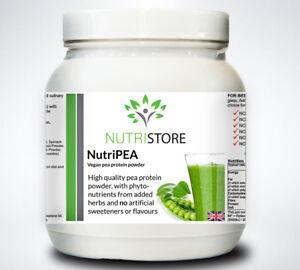High Protein Vegetarian Pea Powder Shake plus Vitamins and Amino Acids
