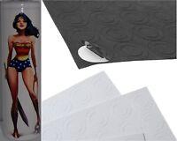"""DC Wonder Woman"" Hero 18650 PVC Lithium Battery Heat Shrink Wraps + Insulators"