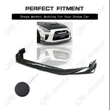 Carbon VS 17' Ver. Style Front Lip Bumper Kit For 2017-2018 Nissan R35 GTR