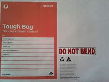 DO NOT BEND STICKERS - For envelops 20pkt - STOPS THE POSTIE BENDING YOUR ITEMS.