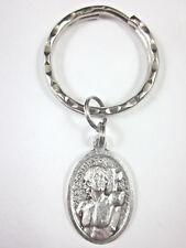 St Sebastian Medal Italy Key Ring Gift Box & Prayer Card