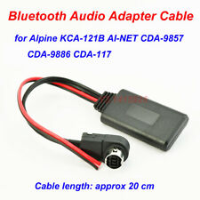 Bluetooth Audio AUX Adapter Cable For Alpine KCA-121B AI-NET CDA-9857 9886 117