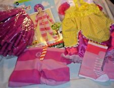 Lalaloopsy Costume Dress Up LOT-Girls S 3-4 Pillow Featherbed-Crumb Sugar Cookie