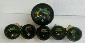 MF Massey Ferguson 265,285,1135 Tachometer Temp Oil Fuel Amp Filter Gauge Kit