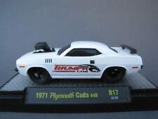 Plymouth Cuda 1971 limitato a 5.880 pezzi m2 1:64 OVP NUOVO