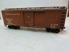 HO CUSTOM PAINTED WHEELING & LAKE ERIE BOX CAR