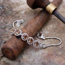 Armbänder mit Edelsteinen echten Zirkon aus Sterlingsilber für Damen