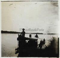 Africa Trofeo Da Preso a Calci Foto ND4 Placca Da Lente Stereo Vintage Ca 1910