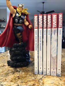 Thor God Of Thunder By Jason Aaron Hardcover OHC Collection Lady Thor New Sealed