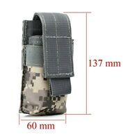 Holster Holder Belt Pouch Case Bag Pouch For Military Flashlight Torch ACU Color