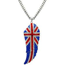 Butler and Wilson Large Union Jack Wings Pendant Necklace BLACK FRIDAY RRP £78