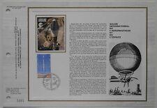 Document philatélique CEF Soie 504 1er jour 1979 Salon Aéronautique et Espace
