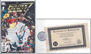 Justice Society America U PICK comic 2006 1 Alex Ross DF signed 2 3-54 Annual DC