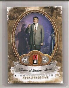 2011 Ringside Round Two Muhammad Ali Retrospective Case Insert Card /10 #30