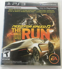 Need for Speed The Run Ps3 Limited Edition Playstation 3 Complete
