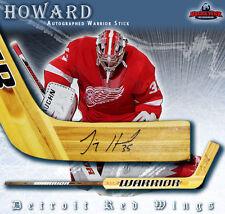 JIMMY HOWARD Signed Warrior Goalie Stick - Detroit Red Wings