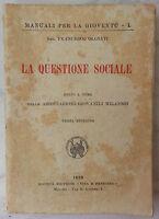 """Francesco Olgiati """"La questione sociale"""" associazioni giovanili milanesi 1920"""