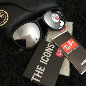 New Ray-Ban Erika RB4171 Polarized Mirror Sunglasses