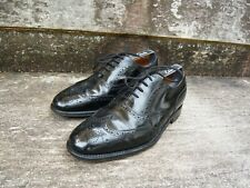 CHEANEY BROGUES – BLACK  - UK 7 – GOOD CONDITION