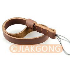 DSLRKIT Split Leather Wrist/Hand Strap Grip for Compact & Mirrorless Camera