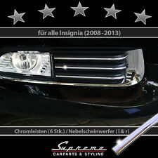 OPEL INSIGNIA 08-13 CHROME TRIMS FOR GRILLE LOWER EXTERIOR L/R 3M