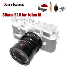 7artisans 35mm F1.4 Full Frame Lens for Leica M Mount M3 M6 M7 M8 M9 M10 Cameras