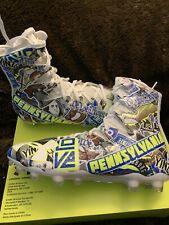 Under Armour Ua Highlight Mc Le Pennsylvania Football Cleats Size 11 1289771-907