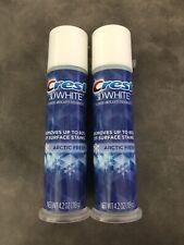 NIB Qty 2 | Crest 3D White Toothpaste | Arctic Fresh Fluoride NEW