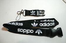 Men Key Lanyard Adidas Sport ID Holders Sport Neck Strap Keychains