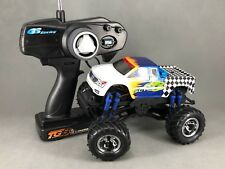 GS Racing Mini SUT RTR 1/20th Scale 4WD Monster Truck <NEW> EP (White-Blue)