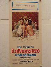 IL DIVORZIATO commedia regia Luciano Salce locandina originale 1962