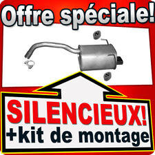 Silencieux Arriere FIAT 500 500C PANDA II FORD KA II dés 2007 échappement AHB