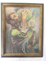 Original Oil Painting by Edith Emma Dorothea Hall (Graf) 1883-1965