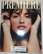 Premiere Magazine Penelope Cruz Arnold Schwarzenegger March 2001 031015R