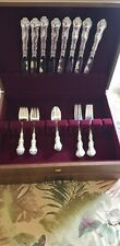 One four piece Gorham Strasbourg Sterling Silver Place Setting No Mono