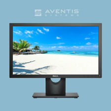 "Dell E1916H 18.5"" LED LCD Monitor 1366 x 768  VGA, DisplayPort/ 1 Year Warranty"