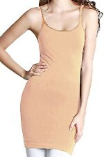 Coobie Women's Extra Long Cami Slip One Size Style 8254
