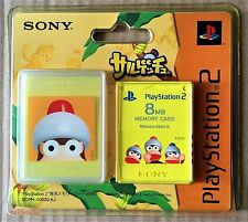 PS2 Ape Escape 8MB Memory Card (2004) Brand New & Sony Factory Sealed
