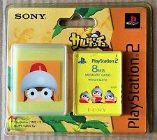 APE ESCAPE 8 MB tarjeta de memoria de PS2 (2004) totalmente nuevo y sellado de fábrica de Sony