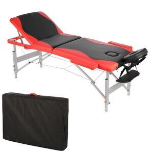 Massagebank Massagetisch Massageliege Kosmetikliege Tasche 3 Zonen klappbar