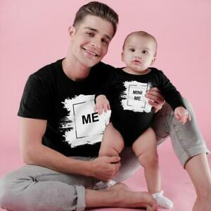 MINI ME DAD AND BABY BODYSUIT AND TEES DAD / SON / DAUGHTER GIFT SET