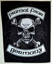 PRIMAL FEAR - Biker  [Back Patch]