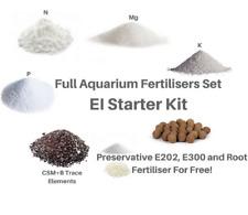 EI Starter Kit Aquarium Plants Fertiliser Full Set For 250 Days KH2PO4 K2SO4 + N