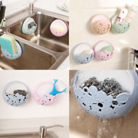 Kitchen Sink Organiser Rack Storage Bathroom Shelf Soap Tidy Sponge Brush Holder