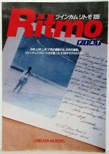 1982 1983 1984 Fiat Ritmo Sales Folder - Japanese Text