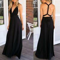 Evening dress formal maxi convertible multi way wrap dresses bridesmaid Women