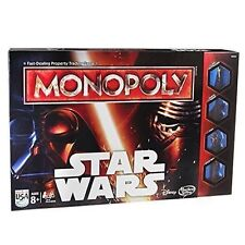 Monopoly Disney Star Wars Edition Hasbro 8 Yrs Family Board Game