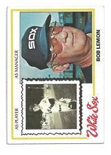 1978 Topps #574 Bob Lemon Chicago White Sox