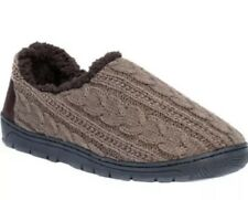 Men's John Slipper by Muk Luks Brown NEW NWT size Medium 10-11